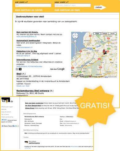 Gratis link toevoegen voorbeeld afbeelding van pagina